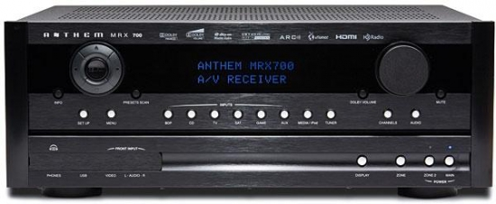 Anthem MRX700 AV-receiver review, test