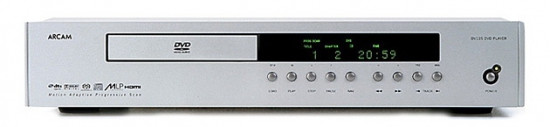 arcam dv135 dvd-player review, test